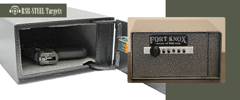 4 Fort Knox Personal Pistol Safe