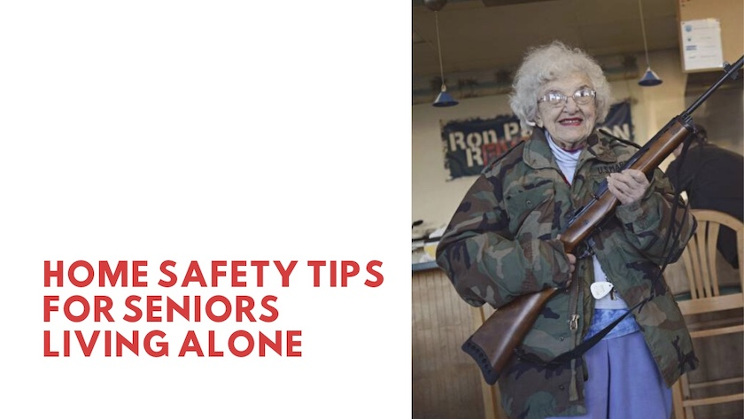 Home Safety Tips for Seniors Living Alone